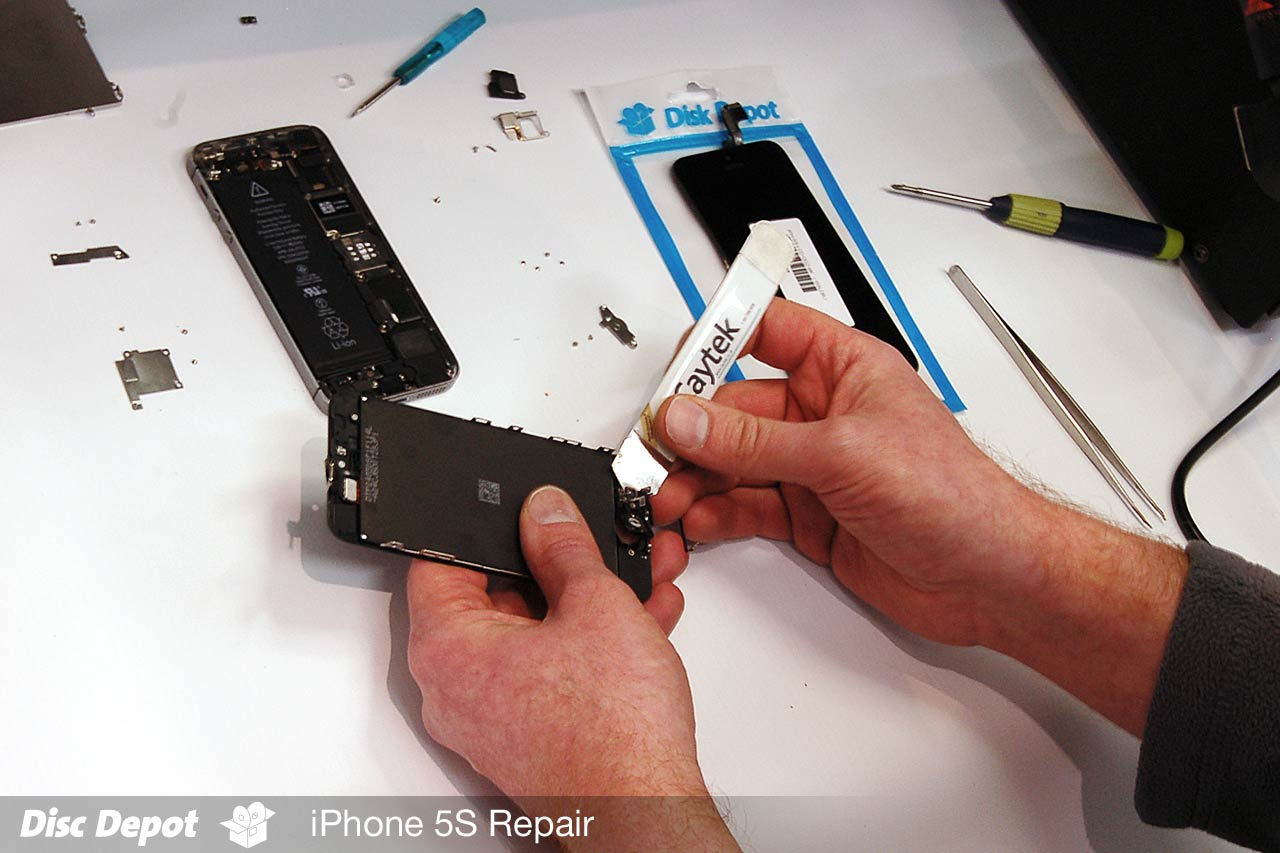 iphone 5s disassembly iphone 5s screen amp digitizer replacement process disc 1873